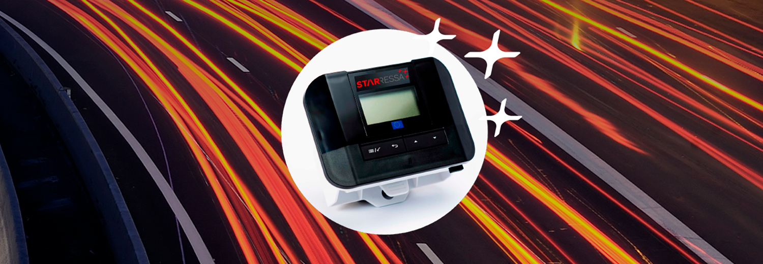 STARRESSA SAT TOLL COLLECTION DEVICE.