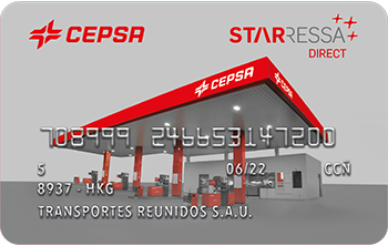 Tarjeta Cepsta Star Direct - Cepsa